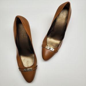 Talbots leather pumps